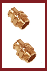 Brass Flexible Conduit Connectors Fixed and Swivel